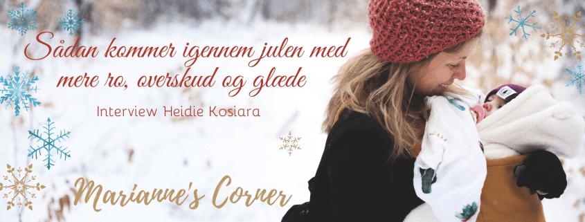 Marianne Thyboe Sådan kommer du igennem julen med mere ro, overskud og glæde Podcast
