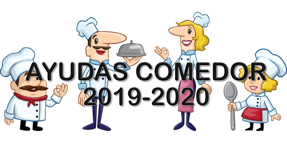 AYUDAS DE COMEDOR CURSO 2019-2020 – CBM Mariano Aroca López