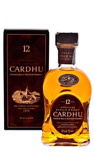 Comprar Cardhu 12 años (Speyside whisky) - Mariano Madrueño