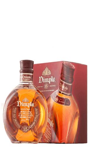 Comprar Dimple 15 años (whisky blended) - Mariano Madrueño