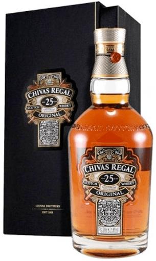 Chivas Regal 25 años - Comprar whisky edición especial