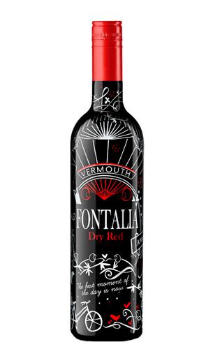 Vermut Fontalia Dry Red (Barcelona) vino generoso