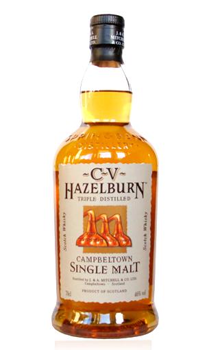 whisky Hazelburn CV