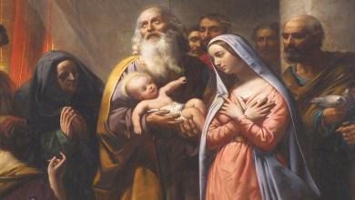 Photo of صلاة رائعة الى مريم العذراء في عيد تقدمة ابنها يسوع الى الله في الهيكل