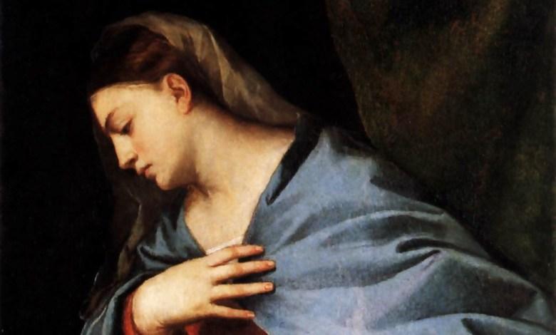 Photo of اللون الأزرق – لماذا تُصوّر مريم العذراء غالبًا مرتدية ثيابًا زرقاء؟
