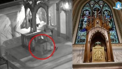 Photo of سرقة بيت القربان مع قرابين مكرّسة من كنيسة في كندا والأسقف يطلب صلوات تعويض عن التدنيس