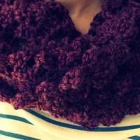 Experiências em Crochet #3: Gola
