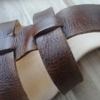 Reciclagem #22: Sandálias de Pele