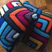 Ideias de Crochet#7: Colcha & Almofadas