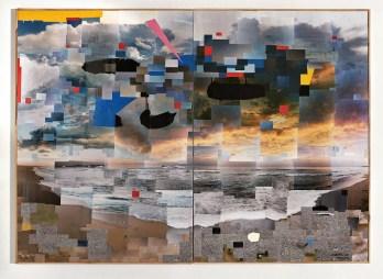 Lobo Velar - Falsa Calma, 130 x 180 cms, 2014baja
