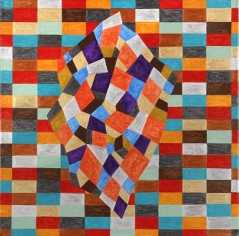 Abril Nun. 3 Acri¦ülico sobre tela 40 x 50 cm. 2010