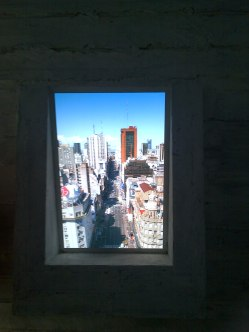 Así se ve por las ventanas