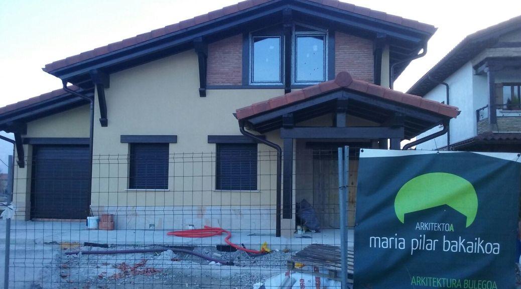 Arquitecto proyecto Arbizu Navarra