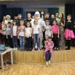 Поздравление детей из детского дома в Непецино