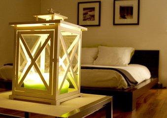 Лампа в комнате