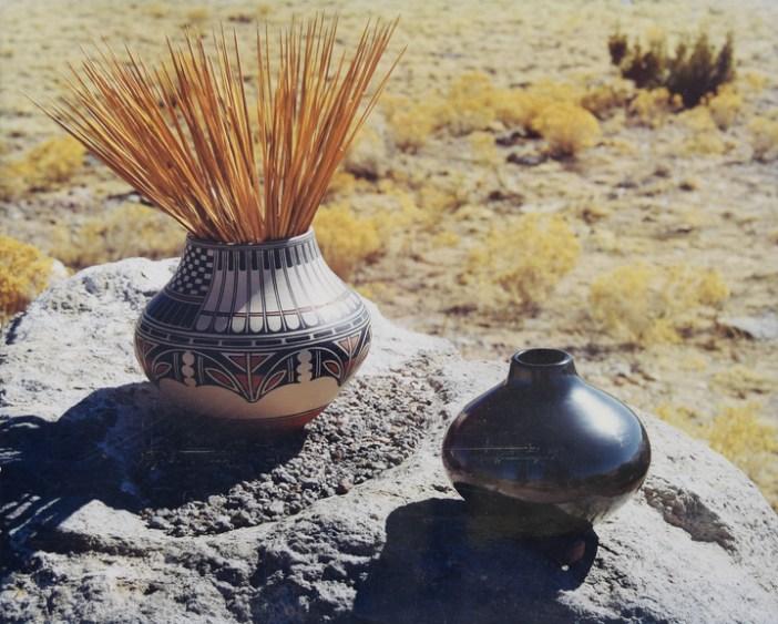 Maria Martinez polychrome pottery