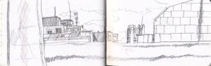 Buildings, Corunna.