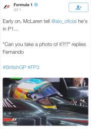 Alonso auf P1