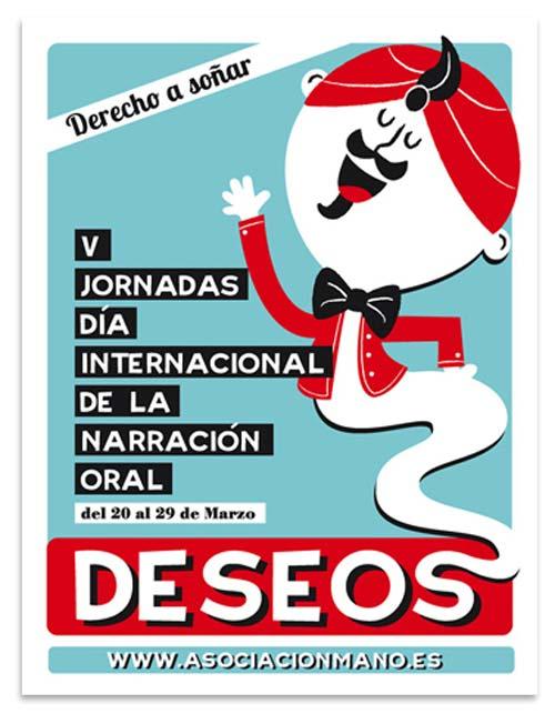 Poster sobre cuentos. Deseos