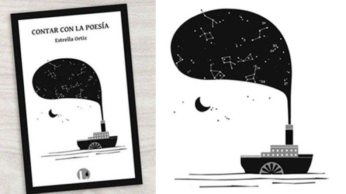 Cubierta para libro sobre poesía y narración