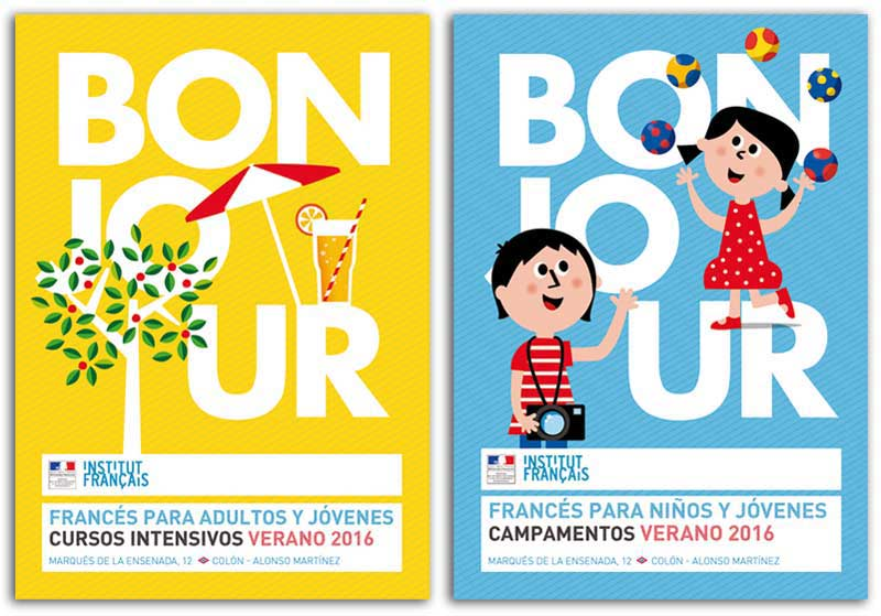 Advertising to learn French by María Reyes Guijarro