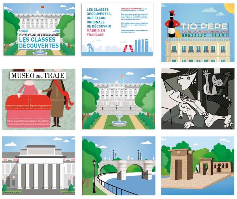 Dibujos de Madrid María Reyes Guijarro