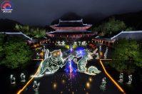 Massive collaboration at Zheng Yi Guan Temple in Longhushan (China) while LPWA Longhushan 2016 Special Event
