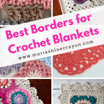 Best Crochet Borders For Blankets Maria S Blue Crayon