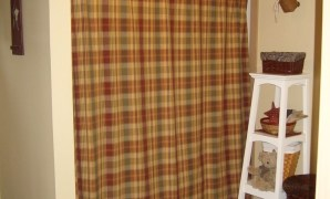 bathroom enchanting country decor with old gallery curtain for intended for Country Style Shower Curtains