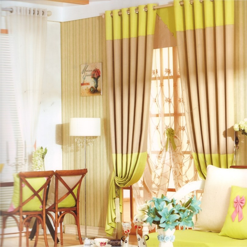 french country curtains and drapes linen/cotton pertaining to French Country Curtains