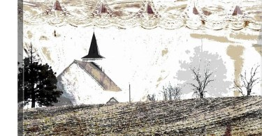 """greatbigcanvas """"country church""""peter horjus canvas wall art within Country Wall Art"""
