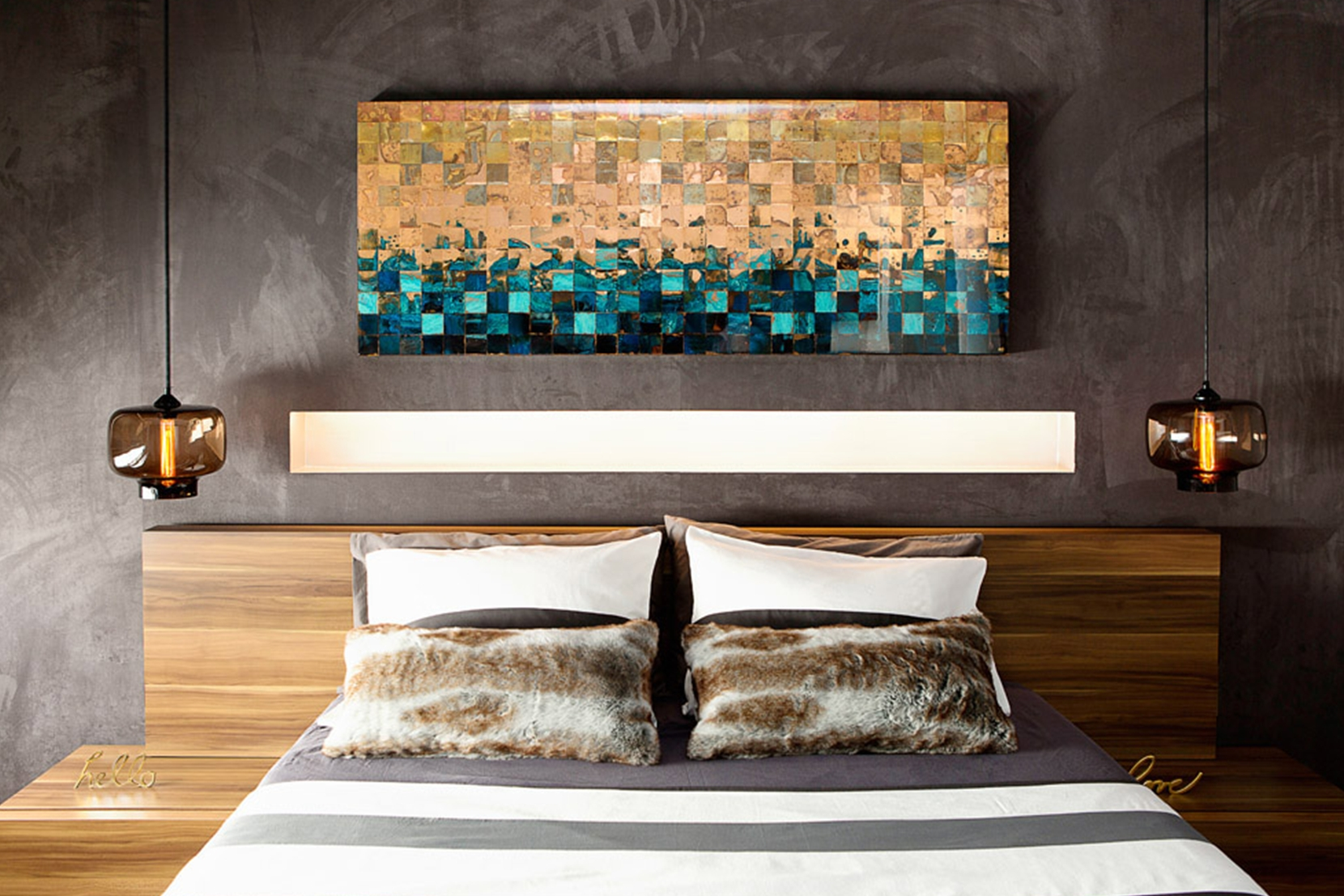 Modern Bedroom Lighting pertaining to How to Decorate Modern Bedroom with Lighting Design Ideas - modern bedroom with lighting