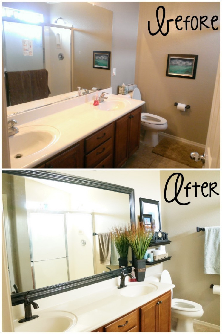 Small Bathroom Design Ideas & Remodel - A Mom's Take