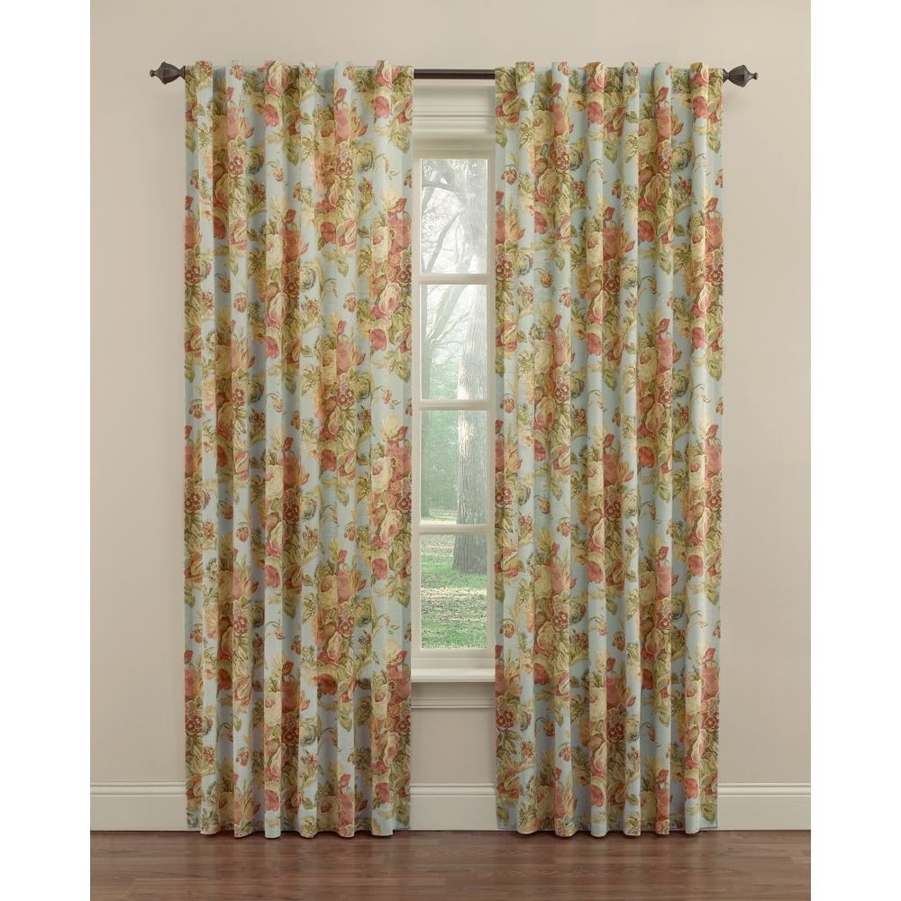 waverly spring bling window curtain panel in vapor - 52 in. w x 84 with Waverly Classics Curtains