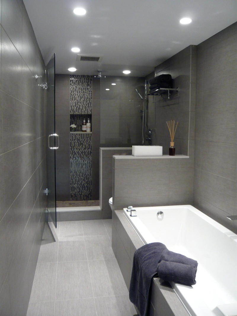 15 shades of grey - bathroom ideas - tilehaven throughout Grey Bathroom Ideas