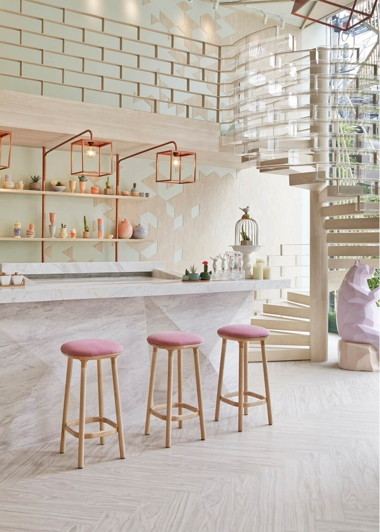 blush pink and copper home decor, home & garden design ideas articles within Pink Home Decor