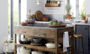 like a treasured vintage find or a custom-designed piece, this inside Custom Designed Kitchen Islands