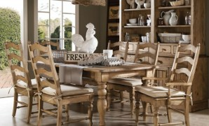 Decor Rustic Farm Table