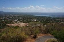 Masaya: El Coyotepe. view of Laguna de Masaya
