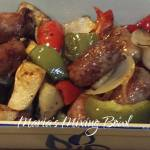 Roasted Sausage and Vegetables