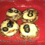 LOW CARB PIZZA STUFFED MUSHROOMS