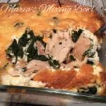 Easy Chicken Florentine Casserole ~ Low Carb