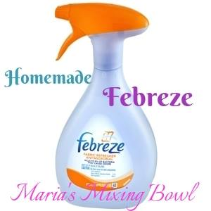 Homemade Febreze