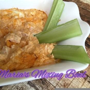 Buffalo Chicken Dip ~ Low Carb