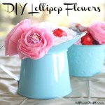 DIY LOLLIPOP FLOWERS
