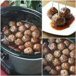 Grape Jelly BBQ Cocktail Meatballs