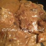 Smothered Pork Chops with Onions and Mushrooms