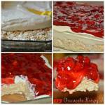 Cherry Cheesecake Krispy Bars