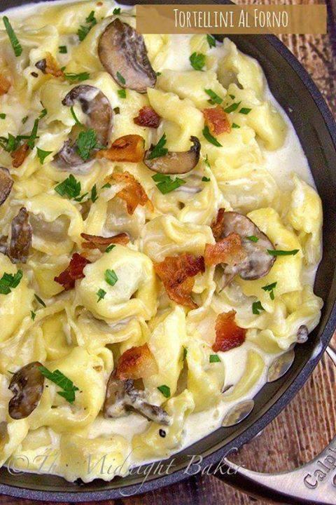 Tortellini Al Forno ( Olive Garden Copycat) - Maria's ...