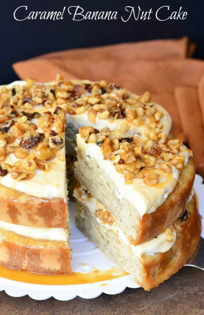 Caramel-Banana-Nut-Cake-1-from-willcookforsmiles.com-cake-dessert